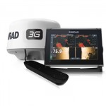 Simrad Go12 Xse With Active Imaging Transducer And 3g Radar