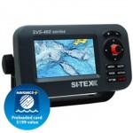 Si-tex Svs-460c Chartplotter With Internal Antenna